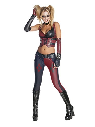 Batman Womens Harley Quinn Costume Large