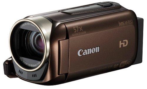 Canon デジタルビデオカメラ iVIS HF R52 ブラウン 光学32倍ズーム IVISHFR52BR