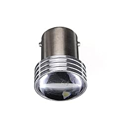 Pack of 2 HID White 1156 2835 6-SMD Car Auto LED Projector Bulbs Backup Reverse Lights