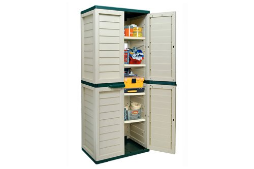 6ft Waterproof & Lockable Garden Storage Cabinet / Shed