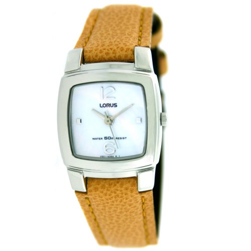 Lorus ladies Watch Yellow Leather Band RRS83