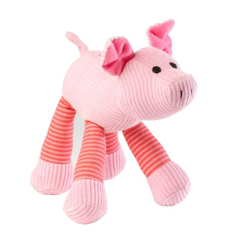 House of Paws Barnyard Oink Pig Sound Dog Toy, Large