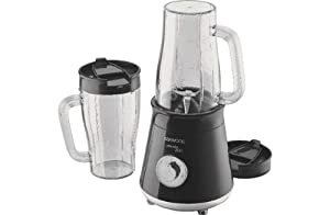 Advanced Kenwood SB056 Smoothie 2Go Maker - Black with Microfibre HSB® Cleaning Glove by Kenwood