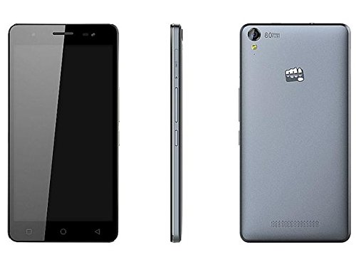 Micromax Canvas Juice 4G Q461 (Grey)  available at amazon for Rs.6685