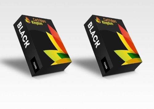 2 x CRG131 Schwarz Toner kompatibel für Canon I-Sensys LBP-7100cn, LBP-7110cw, MF-8230cn, MF-8280cw (2BK)
