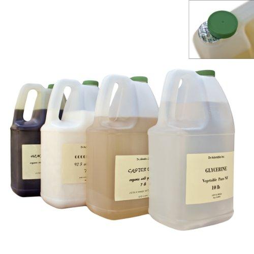 Organic Olive Oil Refined Pure Cold Pressed 128 Fl.oz/1 Gallon/7 Lb