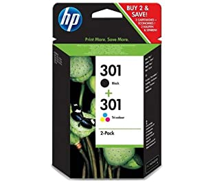 HP Ink Combo Pack B/C/M/Y No. 301, 383HPCR340EE