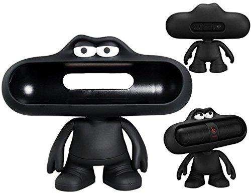 Lovely Dude Doll Design Bluetooth Speaker Stand/ Holder For Beats Pills Bluettoth Speaker (Black)