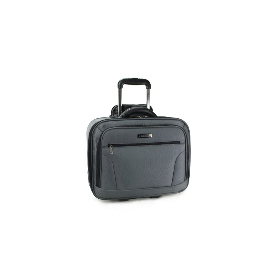Kenneth Cole Reaction Luggage Flying Solo Wheeled Carry On, Charcoal, One Size