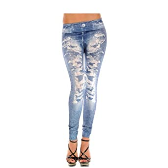 ISASSY 2014 New Sexy Womens Leggings /Jeans Graffiti Jeggings Stretchy Skinny Pants Printed Pattern Legwear Tights, 27 Designs Ladies Fashions Demin Look, ONE Size Super Slim Jeggings, Power Stretch Fabric, Nice Silky Smooth, fit UK Size from 6-12
