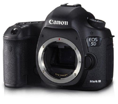 Canon EOS 5D Mark 3 22.3MP Digital SLR Camera (Black)