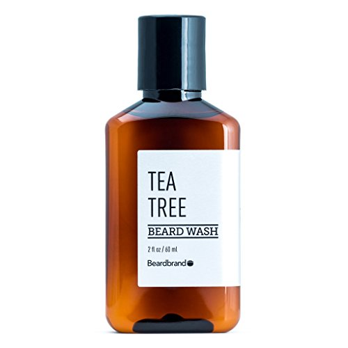 Travel Tea Tree Beard Wash - 2 fl oz