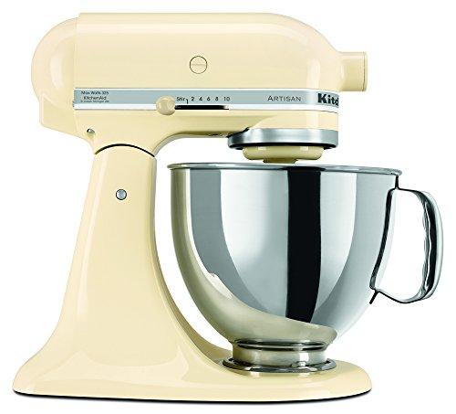 KitchenAid RRK150AC  5 Qt. Artisan Series - Almond Cream (Certified Refurbished) (Cream Kitchenaid Mixer compare prices)