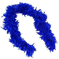 Theme My Party Feather Boa (Blue)