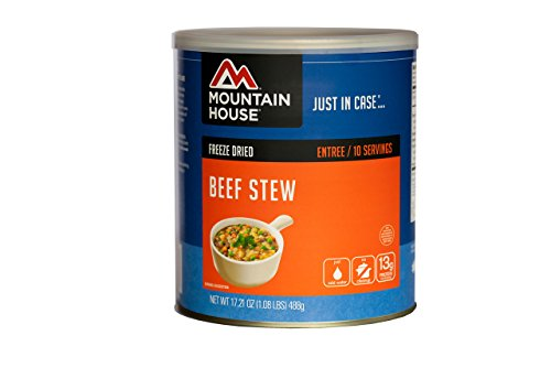 Mountain House Beef Stew #10 Can (Canned Emergency Food compare prices)