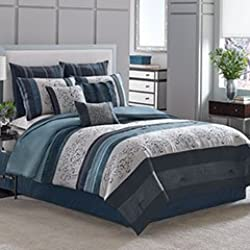 Queen Complete Bedding Set (Manor Hill Lana)