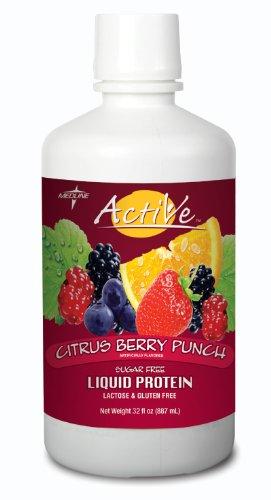 Active Sugar-Free Liquid Protein ( Supplement, Protein, Act Liq, Sf, Citrus Ber ) 4 Each / Case