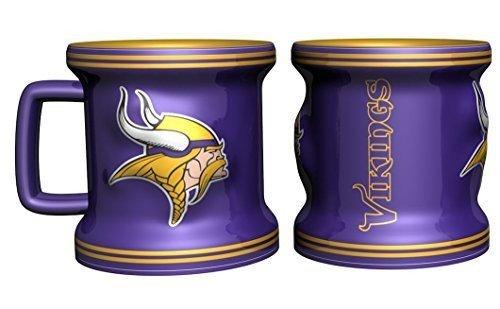 Minnesota Vikings Shot Glass - Sculpted Mini Mug (Minnesota Cup compare prices)