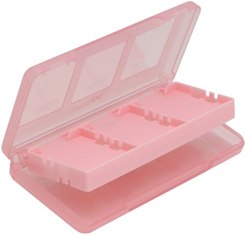 Hori Officially Licensed DS Pink 6-Card Case (Nintendo DS)