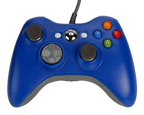 SUNYEE (TM) Wired USB Controller for PC & Xbox 360 (Blue) [Xbox 360] (Xbox 360 Wired Blue compare prices)
