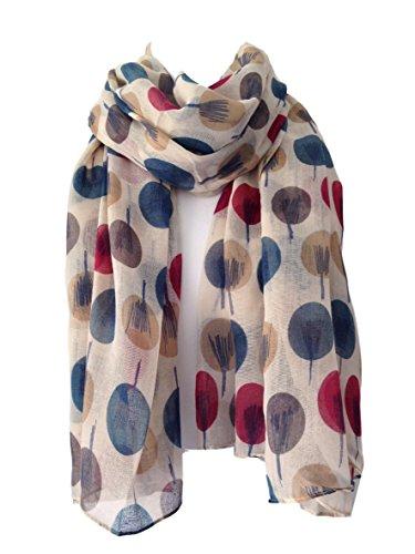 scarf-beige-ivory-cream-sketch-tree-print-ladies-wrap-shawl-sarong-teal-maroon-red