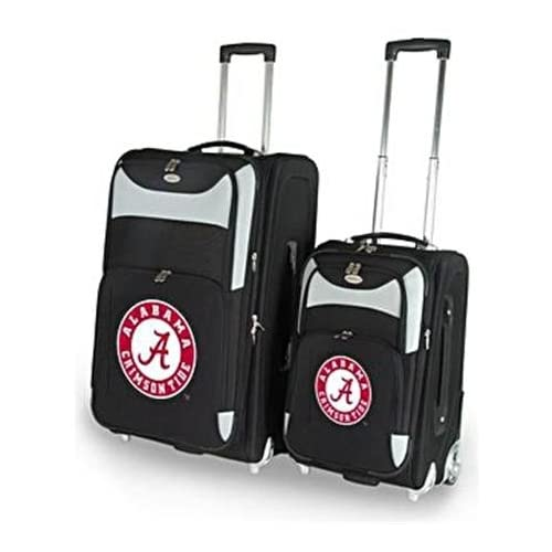 Alabama Crimson Tide UA NCAA Two Piece Luggage Set Sports