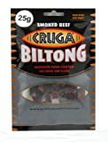 Cruga Beef Biltong Smoked 25g
