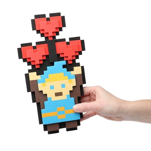 1 X Legendary Hero 8-bit Heart Bouquet - 1