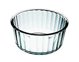 Simax Glassware 6606 Souffle Dish, Clear