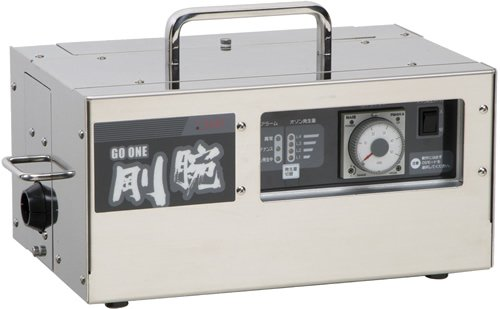 【オゾン発生器】[業務用:ホテル旅館・救急車・カーディーラー・レンタカーなど] 剛腕 GWD-1000F(オフタイマータイプ)