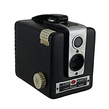 Retro Brownie Hawkeye Vintage Style Camera Coin Bank