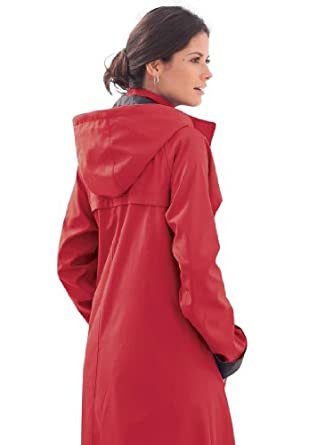 HOODED RAIN JACKETS FOR WOMEN  Jessica London Women s Plus Size Long ... 28ee9db2b