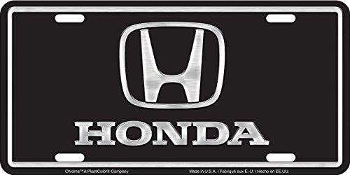 Chroma Graphics 2004 Aluminum Honda Brushed Tag (Honda License Plates compare prices)
