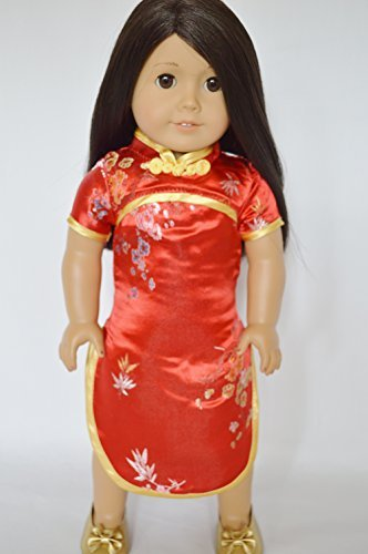ASIAN INSPIRED DRESS FOR AMERICAN GIRL DOLLS