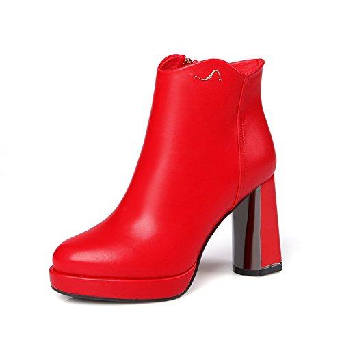balamasa-girls-chunky-heels-platform-zipper-red-imitated-leather-boots-3-uk