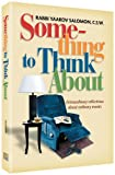 img - for Something to Think About: Extraordinary reflections about ordinary events book / textbook / text book