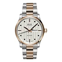 Mido M0058302203102 Watch Multifort Mens M005.830.22.031.02 Silver Dial Stainless Steel Case Automatic Movement