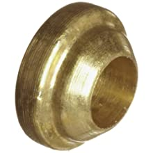 Parker A-Lok 1BF1-B Brass Compression Tube Fitting, Back Ferrule, Tube OD