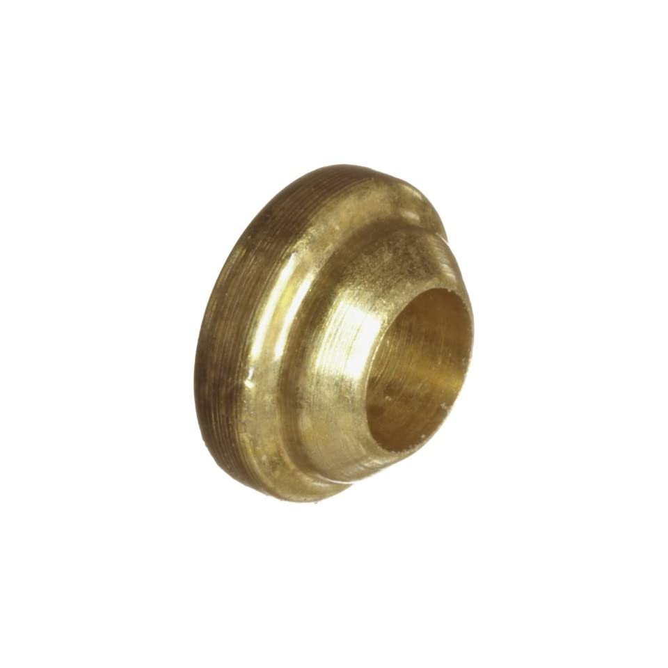 Parker A Lok 2BF2 B Brass Compression Tube Fitting, Back Ferrule, 1/8 Tube OD
