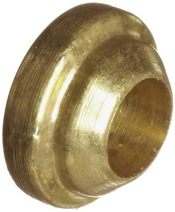 Parker A-Lok 1BF1-B Brass Compression Tube Fitting, Back Ferrule, Tube OD