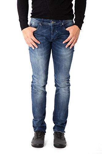 FIFTY FOUR - Jeans uomo super slim fit staff j510 w30 denim