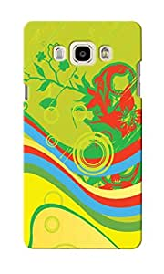 KnapCase Abstract Designer 3D Printed Case Cover For Samsung Galaxy J5 2016