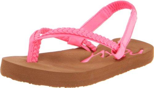 Roxy Tw Rio Thong Sandal (Toddler),Hot Pink,5 M Us Toddler front-554644