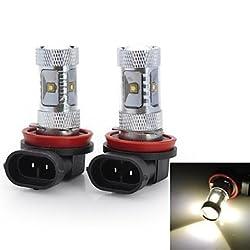 See Marsing? High Power H11 30W 2800LM 6*Osram LED 6500K White Light Car Fog / Head Light (12V / 2pcs) Details