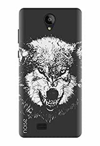 Noise Designer Printed Case / Cover for Swipe Konnect Plus / Patterns & Ethnic / Were wolf Design