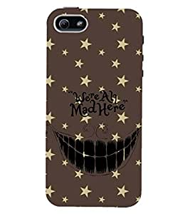 PRINTSWAG TEXT Designer Back Cover Case for APPLE IPHONE 5S