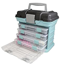 Creative Options 1354-88 Grab N\' Go Rack System, Soft Blue