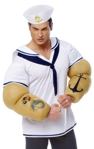 Sailor shirt w/detachable arms