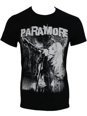Paramore Grunge Official Mens T Shirt (S)