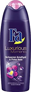 Fa Luxurious Moments Duschcreme, Schwarzer Amethyst & Pinke Viola, 6er Pack (6 x 250 ml)
